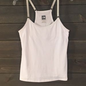 THE NORTH FACE WHITE TANK